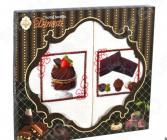 Комплект из 2-х кухонных полотенец Dinosti «Шоколадный маффин»