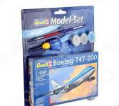 Сборная модель пассажирского самолета Revell Boeing 747-200