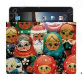 Чехол для iPad Mitya Veselkov «Матрешки»