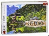 Пазл 500 элементов Trefl «Бассейн Черного дракона. Лицзян, Китай»