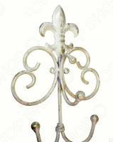 Вешалка с крючками Gift'n'home «Французская Лилия»