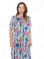 Платье Гранд Гром «Седьмой лепесток». Цвет: голубой