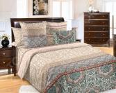 Комплект постельного белья Королевское Искушение «Визаж». Семейный