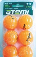 Мячи для настольного тенниса Atemi ATB201