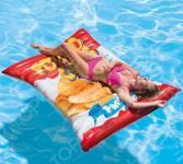 Матрас надувной водный Intex «Чипсы»