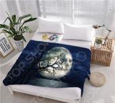 Плед флисовый ТамиТекс «Лунный восход»