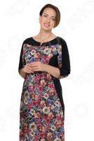 Платье VEAS «Заманчивая загадка». Цвет: синий