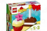 Конструктор для малышей LEGO Duplo «Мои первые пирожные»