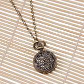 Кулон-часы Mitya Veselkov «Цветочный медальон»