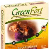 Ошейник для собак средних размеров от эктопаразитов Green Fort G105