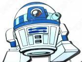 Пробивной светильник 3DlightFX Star Wars Egg Force R2-D2