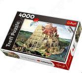Пазл 4000 элементов Trefl «Вавилонская Башня»