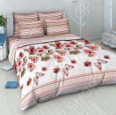 Комплект постельного белья Василиса «Розовый вальс». 1,5-спальный
