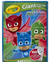 Раскраска с наклейками Crayola PJ Masks