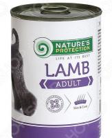 Корм консервированный для собак Nature's Protection Adult Lamb «Ягненок»