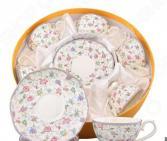Чайный набор Elan Gallery «Цветочный каприз» 530044