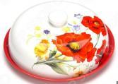 Блюдо для блинов Loraine LR-26412 «Маки»
