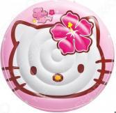 Матрас надувной водный Intex «Островок» Hello Kitty