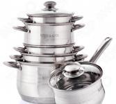 Набор посуды с ковшом «Идеальный выбор». 12 предметов