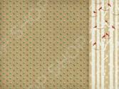 Бумага для скрапбукинга двусторонняя Kaisercraft Wreaths