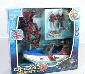 Игровой набор с фигурками Chapmei «Опасное приключение акванавтов»