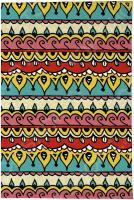 Визитница Mitya Veselkov «Яркий орнамент»