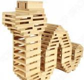 Конструктор деревянный Теремок И684