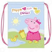 Мешок для обуви Peppa Pig «Свинка Пеппа и утка»