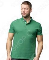 Футболка-поло мужская Milliner. Цвет: зеленый