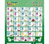 Плакат электронный ЗНАТОК «Говорящая Азбука» 8 режимов