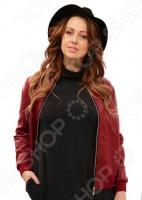Куртка-бомбер Wisell М5-3424/5. Цвет: бордовый