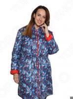 Куртка Гранд Гром «Зимние цветы». Цвет: красный
