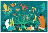 Пазл 45 элементов Krooom «Морские животные»