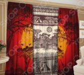 Фотокомплект: тюль и шторы ТамиТекс «Мир истории»