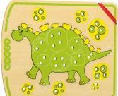 Игрушка развивающая WOODY «Шнурозаврик-1»