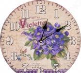 Часы настенные Lefard «Фиалки» 799-149