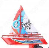 Игрушка на радиоуправлении 1 Toy «Яхта с парусом». В ассортименте