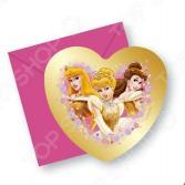 Приглашения в конвертах Procos «Принцессы на балу»