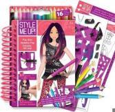 Блокнот с карандашами Style Me Up! «Супер Звезда»