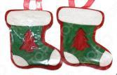 Набор подвесок декоративных Новогодняя сказка «Валеночек»