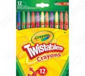 Набор восковых мелков Crayola выкручивающиеся
