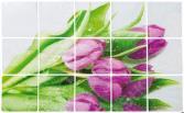 Стикер защитный на кафель Marmiton «Тюльпаны» 17101