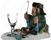 Набор подарочный «На посошок»: фигурка «Рыбак» и рюмка 537-228