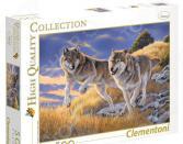 Пазл 500 элементов Clementoni HQ «Волки»
