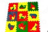 Коврик-пазл развивающий ECO COVER «Животные»
