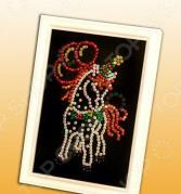 Мозаика из пайеток Волшебная мастерская «Лошадка»