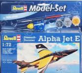 Набор сборной модели самолета подарочный Revell «Альфа-Джет Е»