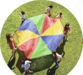 Игра детская командная Bradex «Парашют дружбы»