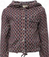 Куртка для девочки Finn Flare Kids KS16-71056. Цвет: светло-бежевый