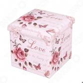 Пуф-короб для хранения Miolla Love Is The Beauty